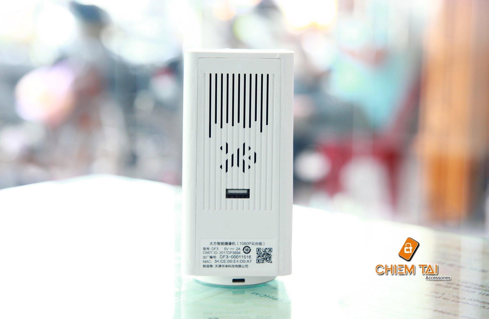 camera ip xiaomi xiaofang square ptz 360 full hd 1080p 6007d4452ee70