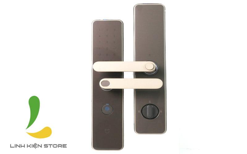 Mật khẩu ẩn phía trên màn hình khoá cửathông minh Xiaomi Mijia