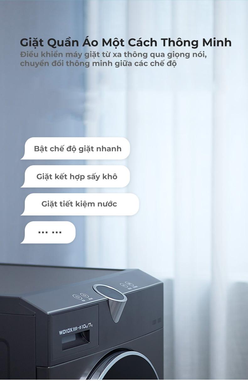 Máy Giặt Kết Hợp Sấy Khô 10KG Xiaomi Viomi Yunmi