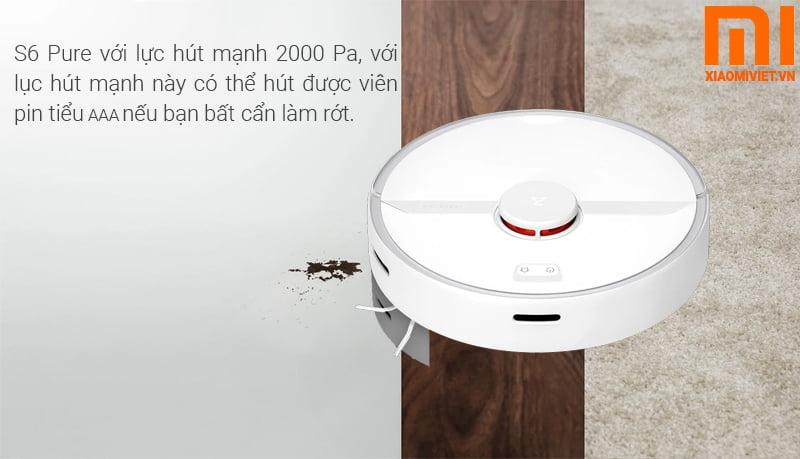 Robot Lau nhà xiaomi Gen 3 6s Pure