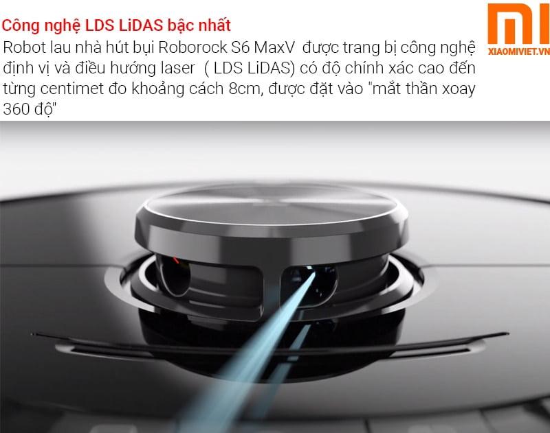 Robot hút bụi lau nhà Xiaomi Roborock S6 MaxV