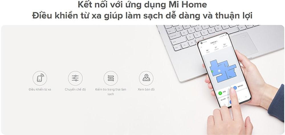 Robot hút bụi lau nhà Xiaomi Vacuum Mop Essential SKV4136GL