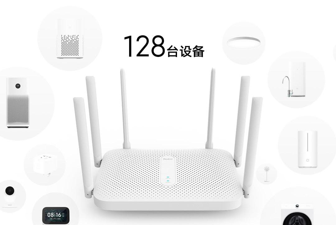 router wifi redmi ac2100 6007fccd3b777