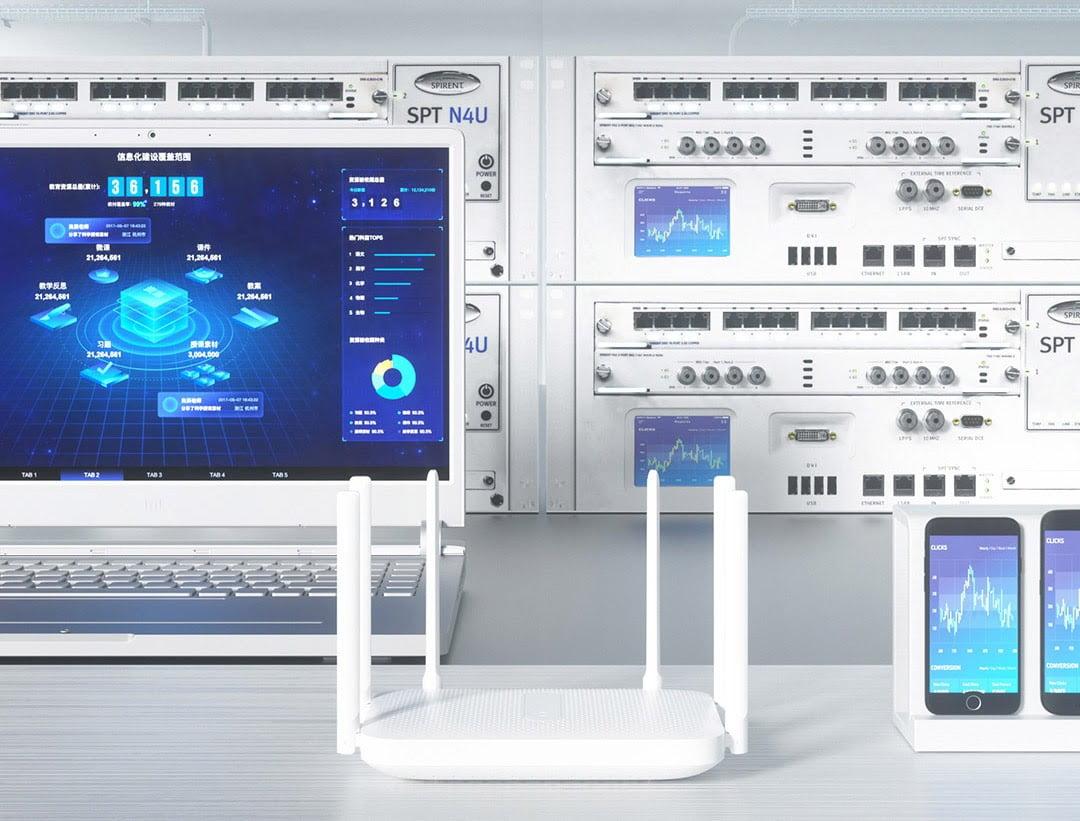 router wifi redmi ac2100 6007fcd803fbb