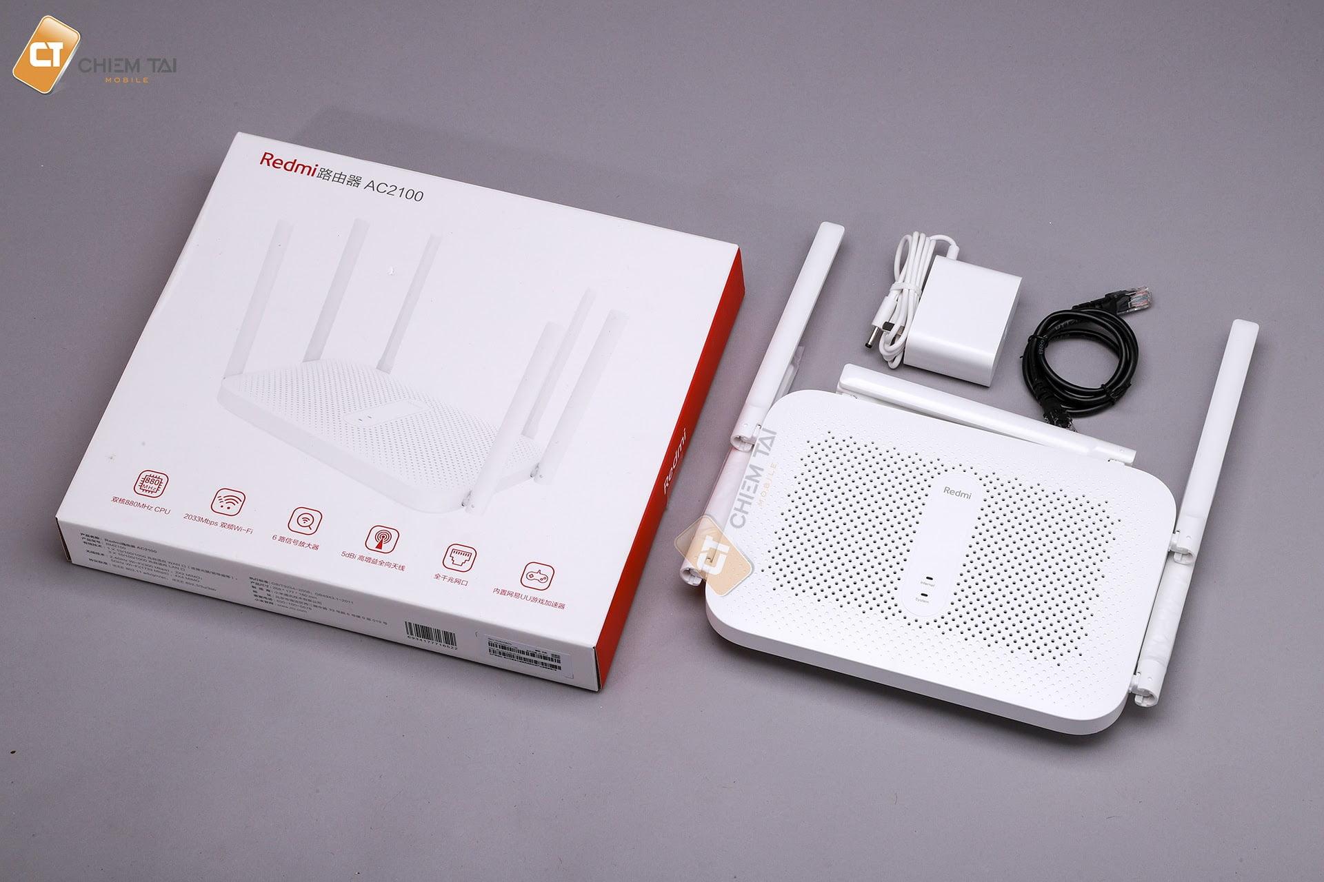 router wifi redmi ac2100 6007fcde1f248