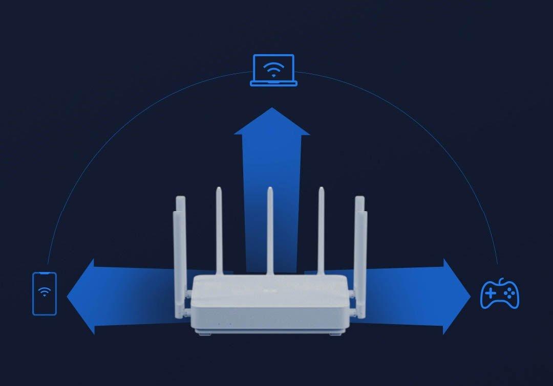 router wifi xiaomi aiot ac2350 6007fbcab5e53