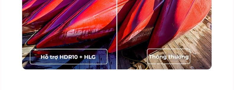 Công nghệ HDR10 + HLG