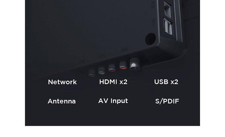 Tivi Xiaomi 4X 43 inch đa dạng kết nối