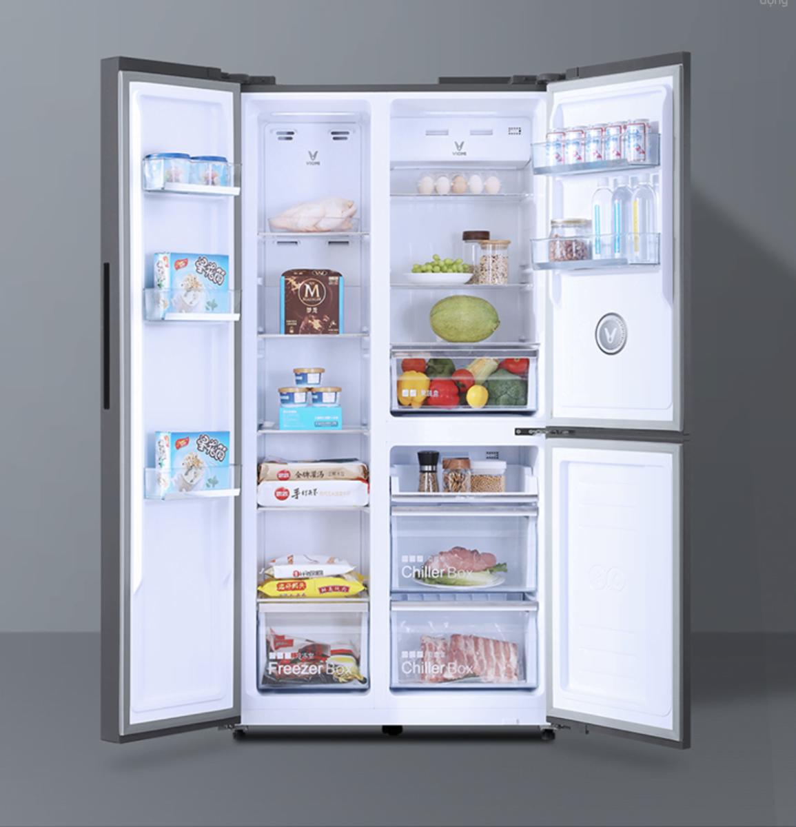 Tủ Lạnh Xiaomi Viomi với sức chứa thoải mái