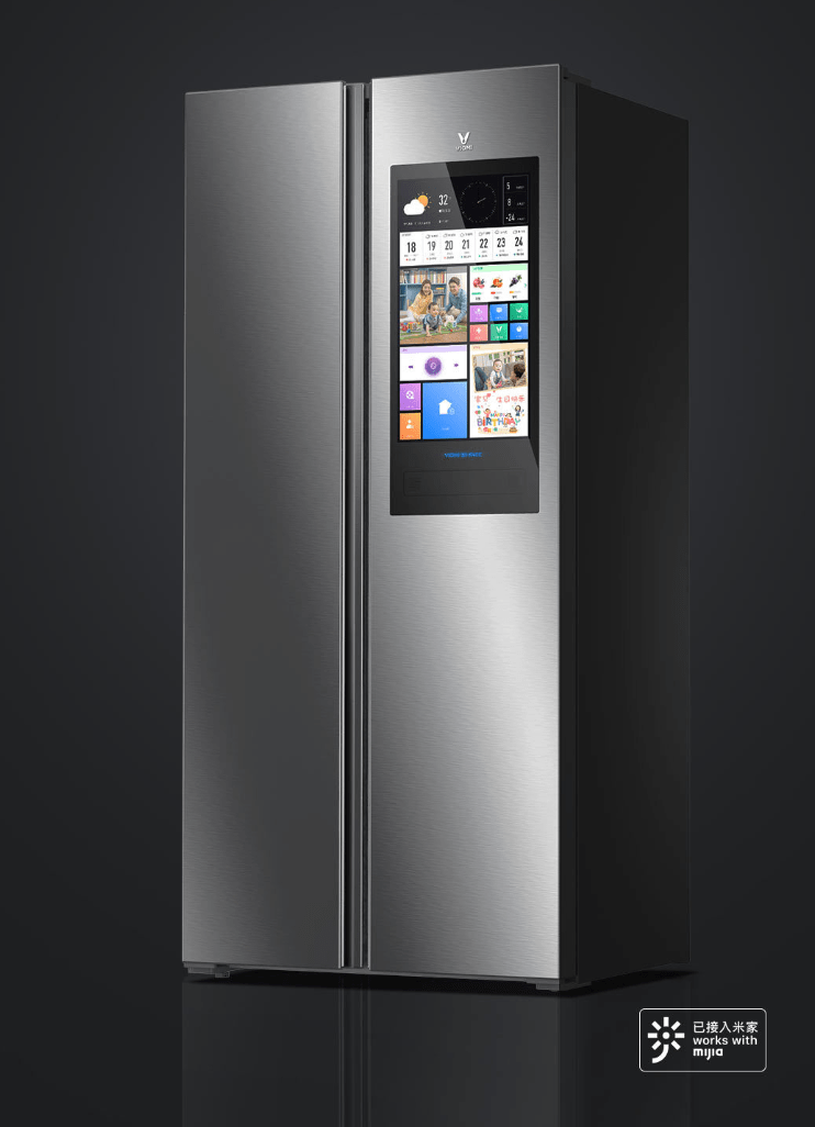 Tủ Lạnh Xiaomi Viomi 21 Face 450L tích hợp màn hình TV 21 inch tại Dienthooaihot