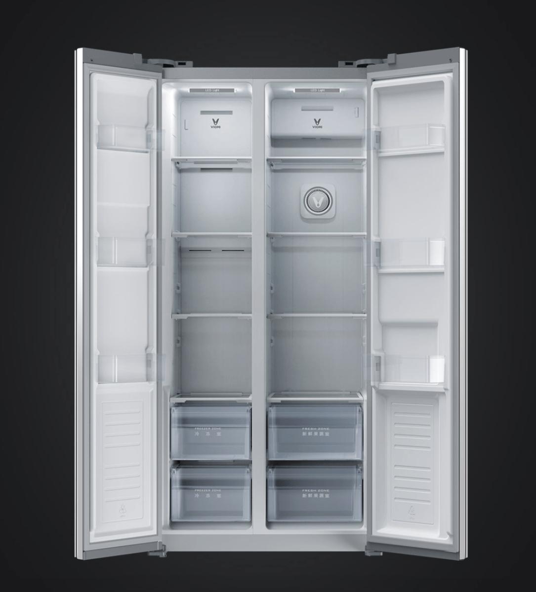 Tủ Lạnh Xiaomi Viomi với 2 cánh vô cùng tiện lợi