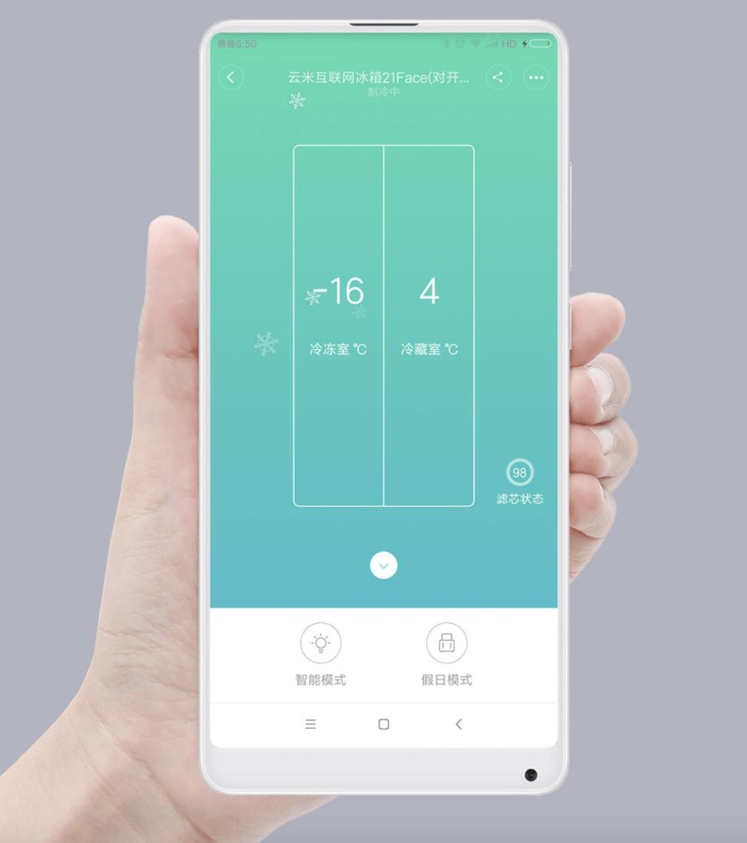 Điều khiển Tủ lạnh Xiaomi Viomi từ xa qua app