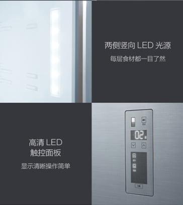 Trang bị màn hình điều khiển cảm ứng LED