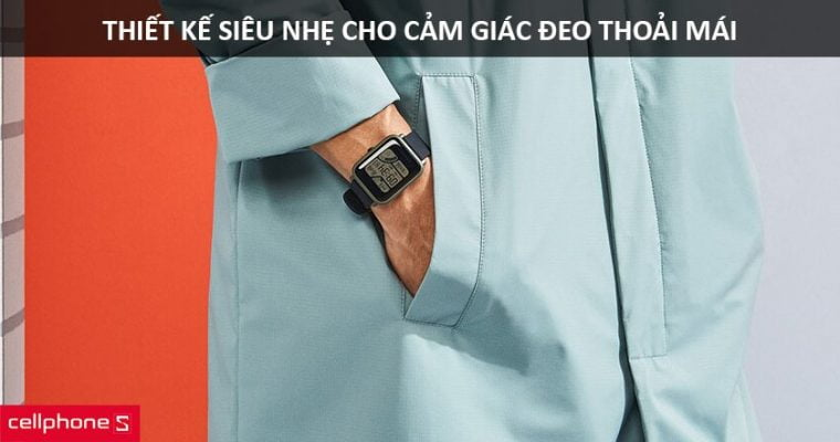 Dong ho thong minh Xiaomi Amazfi 12