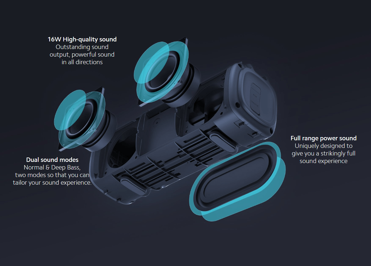 loa bluetooth outdoor xiaomi portable speaker 16w mdz 36 db 605d91dc6fe75