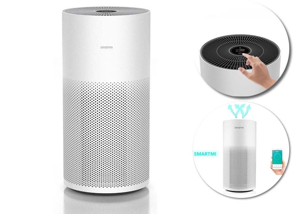 may loc khong khi thong minh smartmi air purifier 604efb2171a36