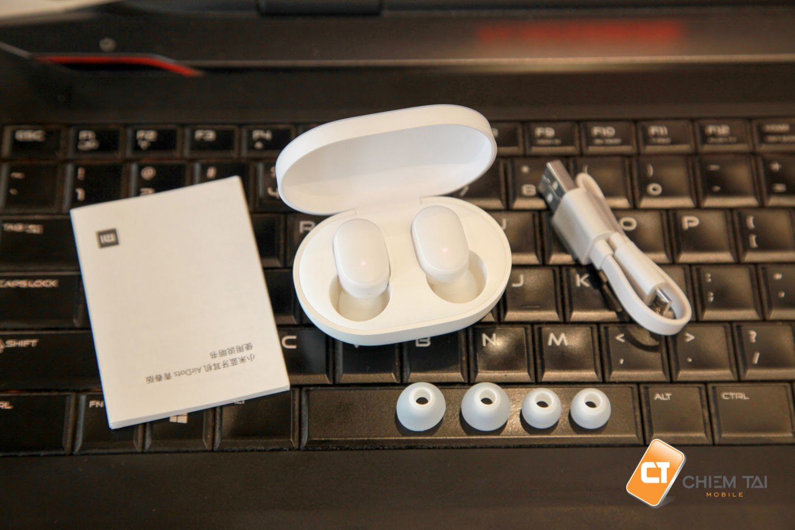tai nghe bluetooth true wireless xiaomi airdots youth edition 605065d752344
