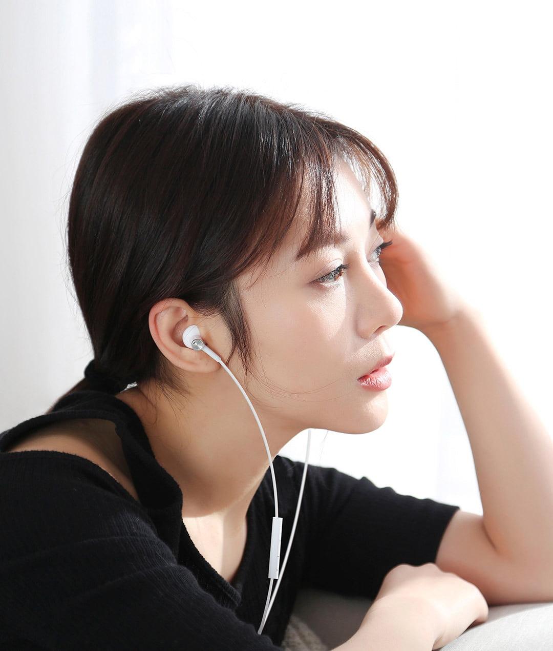 tai nghe gom xiaomi mi dual unit half ear 605c44c445229