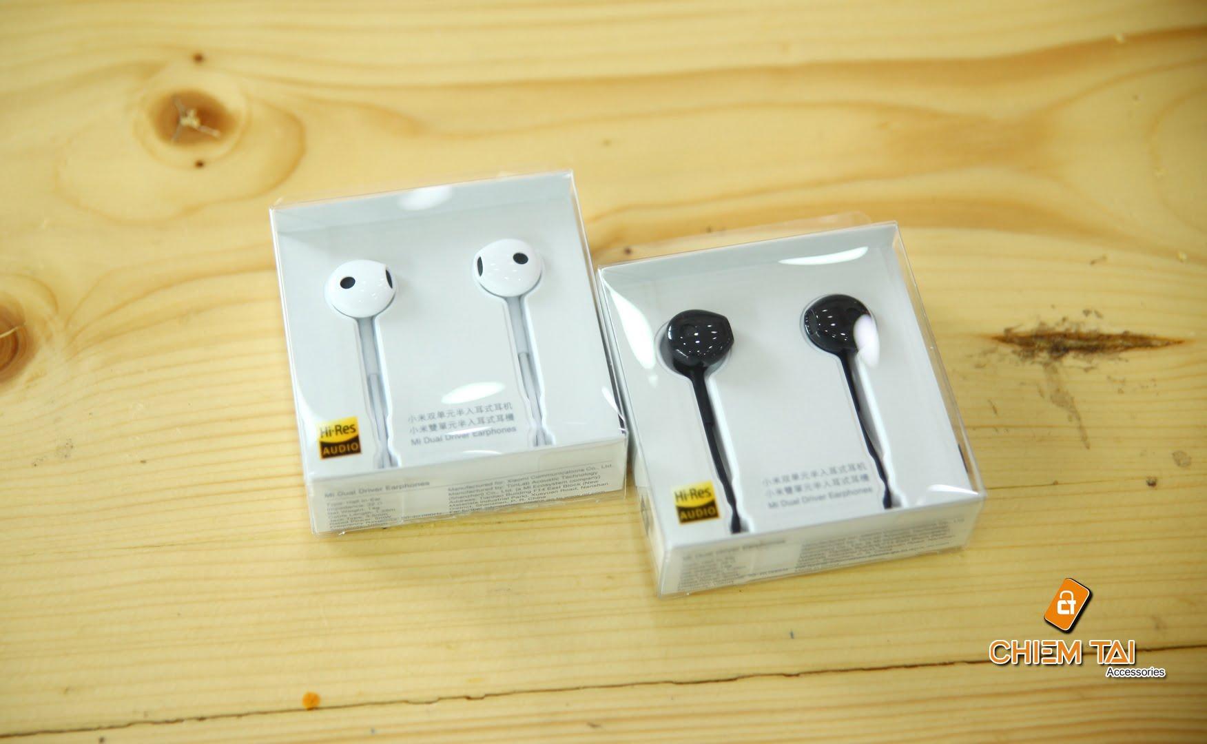 tai nghe gom xiaomi mi dual unit half ear 605c44c810134