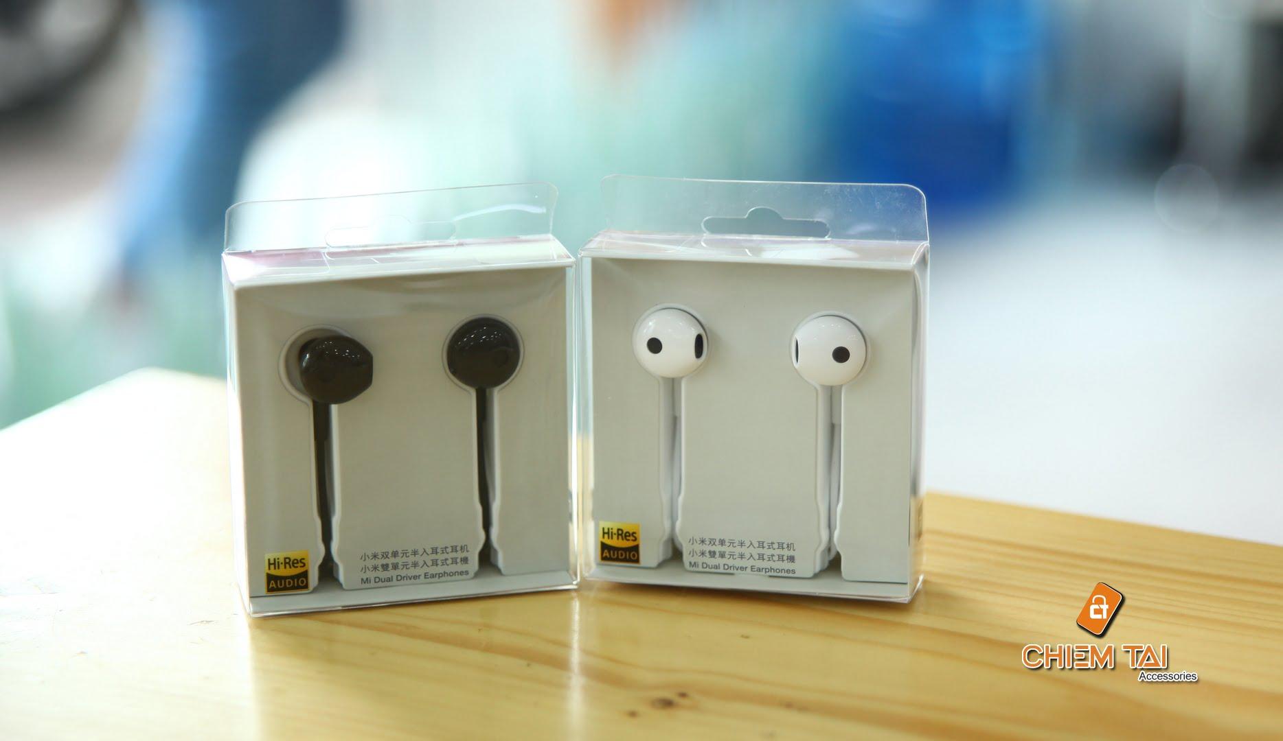tai nghe gom xiaomi mi dual unit half ear 605c44c9a1df3