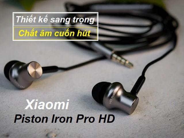 review tai nghe xiaomi piston iron pro hd chat luong vuot xa gia thanh 606549abe4ff5