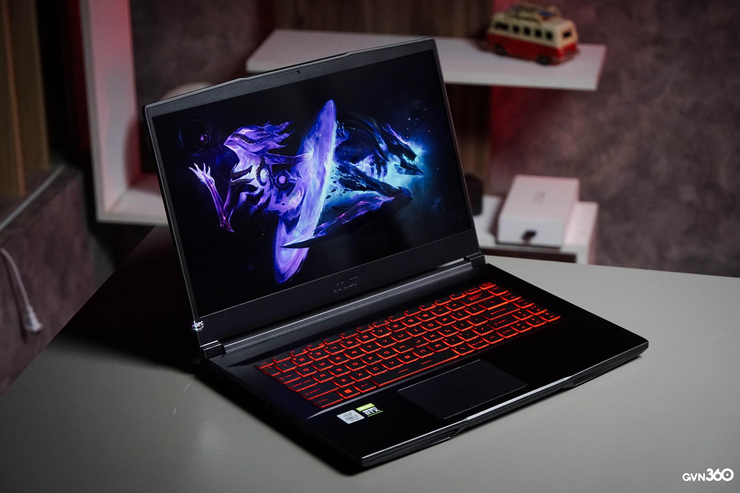 Top 3 mau laptop gaming su dung RTX 3060 dang