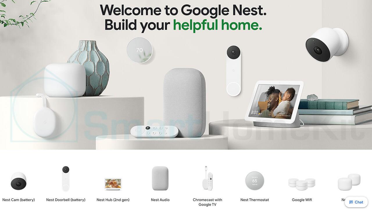 google nest new product 2021 banner