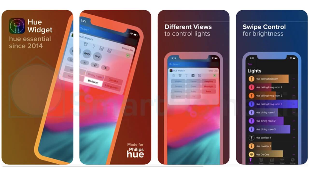 hue widgets app 1